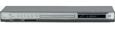LG LGDV418 DVD player with flash card reader