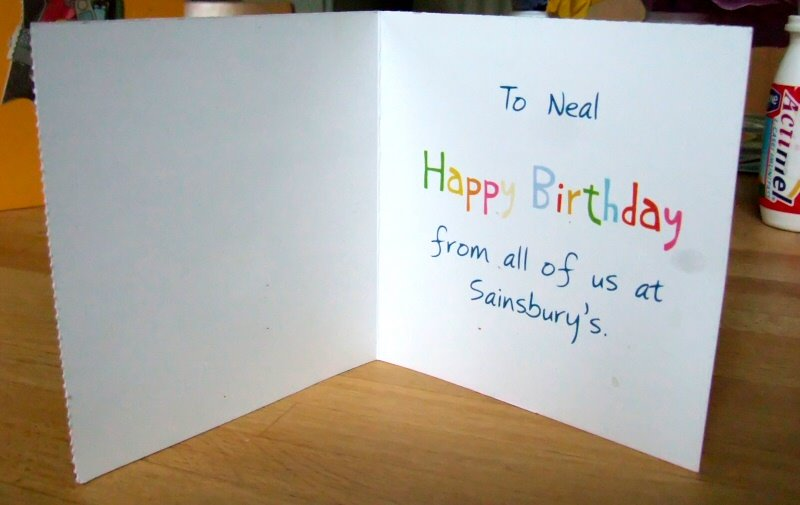 Famous For 15 Megapixels Happy Birthday From All Of Us At Sainsburys