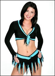 Lesbian cheerleaders carolina panthers penthouse