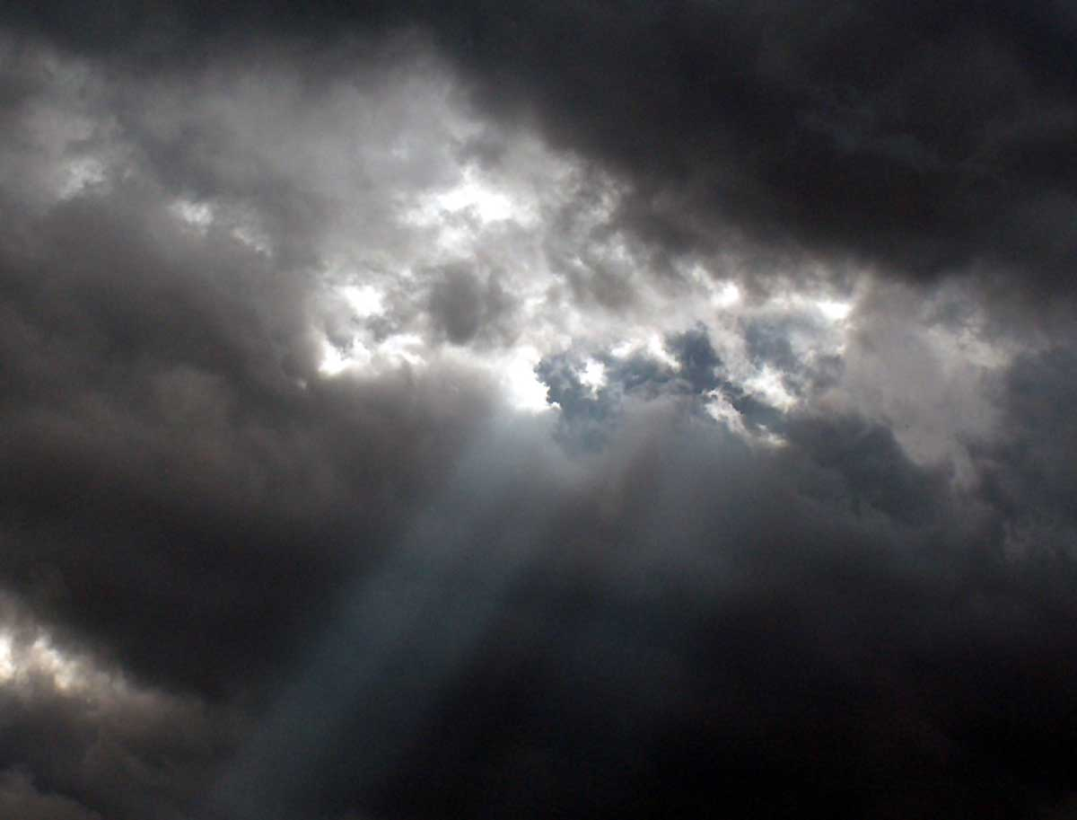 In Coherence More Dark Clouds Gathering Over Iran