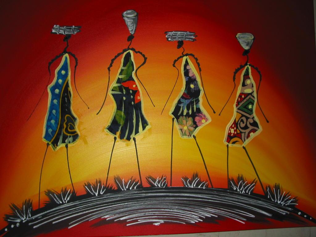 ouzin artiste peintre a montpellier art moderne art africain deco. Black Bedroom Furniture Sets. Home Design Ideas