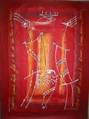 Ouzin artiste peintre a montpellier art moderne art for Art moderne peinture