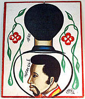 barber sign - ivory coast