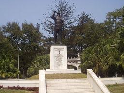 machel statue