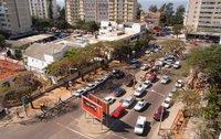 top end of avenida 24 de julho, location of the piri piri