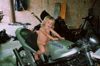 another biker in the family?