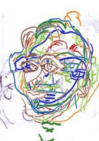 self-portrait by caroline