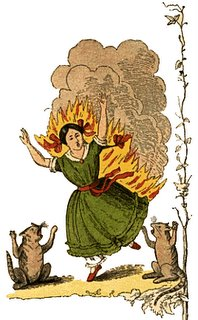 the dreadful story of pauline and the matches