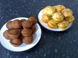 banana and cheese muffins