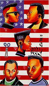 barber sign - ghana