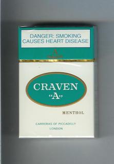 Craven A menthol