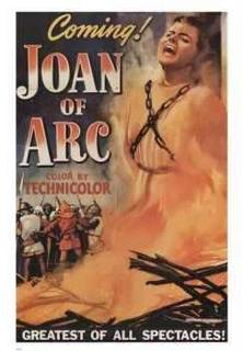 Joan of Arc, 1948, with Ingrid Bergman