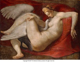 copy of leda by michaelangelo