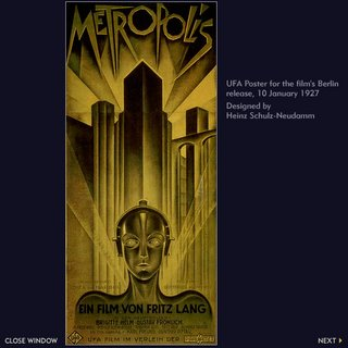 Poster for Metropolis