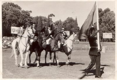 mozambique showjumping team circa 1967