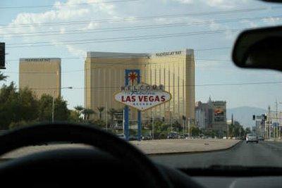 Llegada a Las Vegas