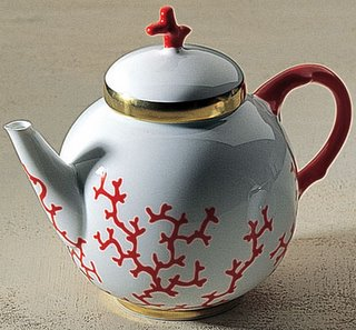 Cristobal Tea Pot by Raynaud Porcelain