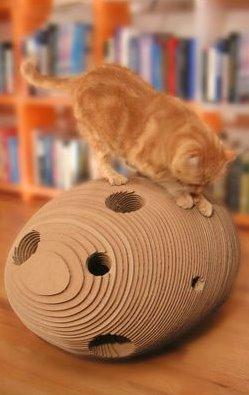 Cat Cocoon [Plush Pod]