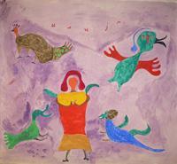 On Ilijada: Birds with Winged Friend