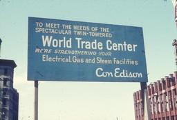 World Trade Center Buildboard