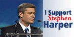 I support Stephen Harper