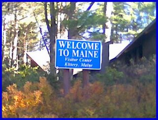 Welcome to Maine, Visitor Center, Kittery Maine
