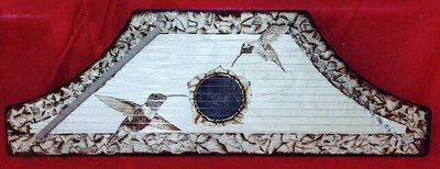 Zither handcrafted by the artist.