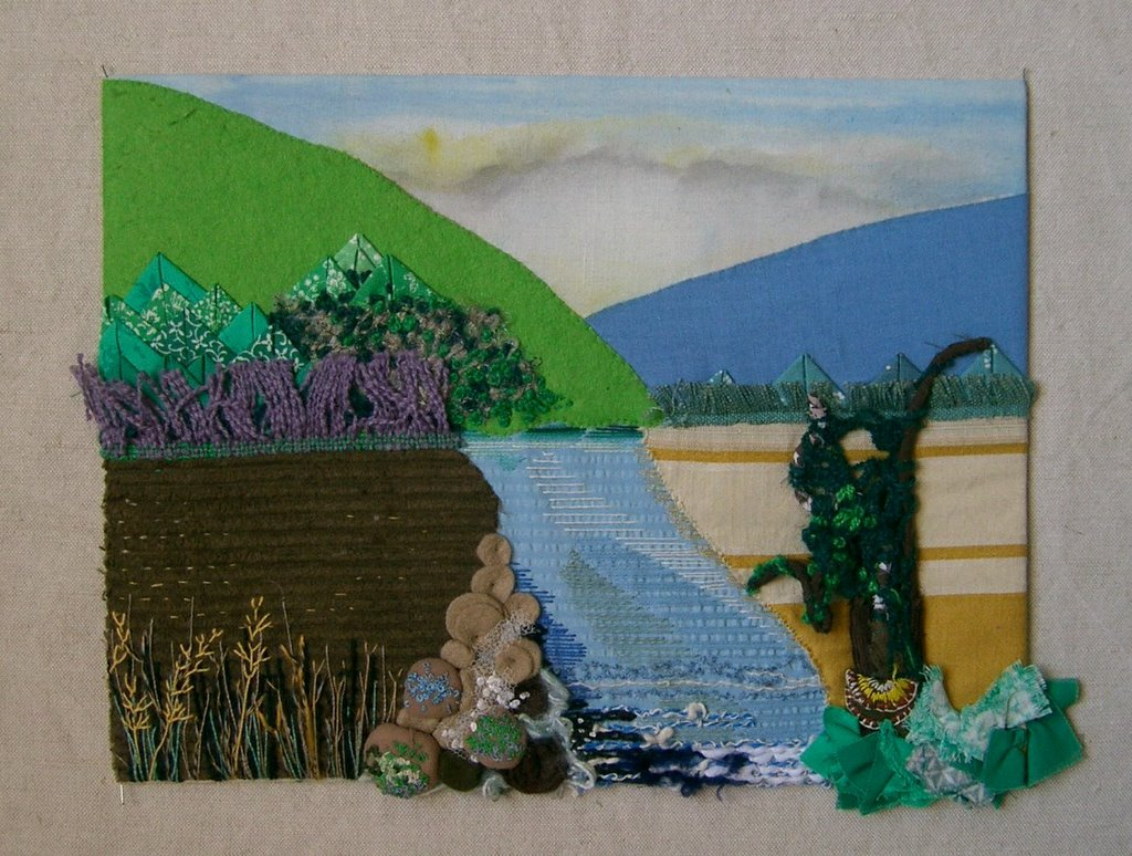 Smockerysmart My Embroidery Blog Based On Landscapes