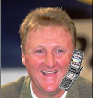Larry Bird Calling Me