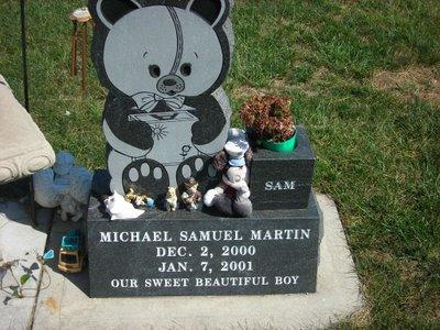 Bear at De Soto Cemetery