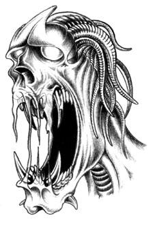 Slipknot et autre dessin d horreur - Dessin horreur ...