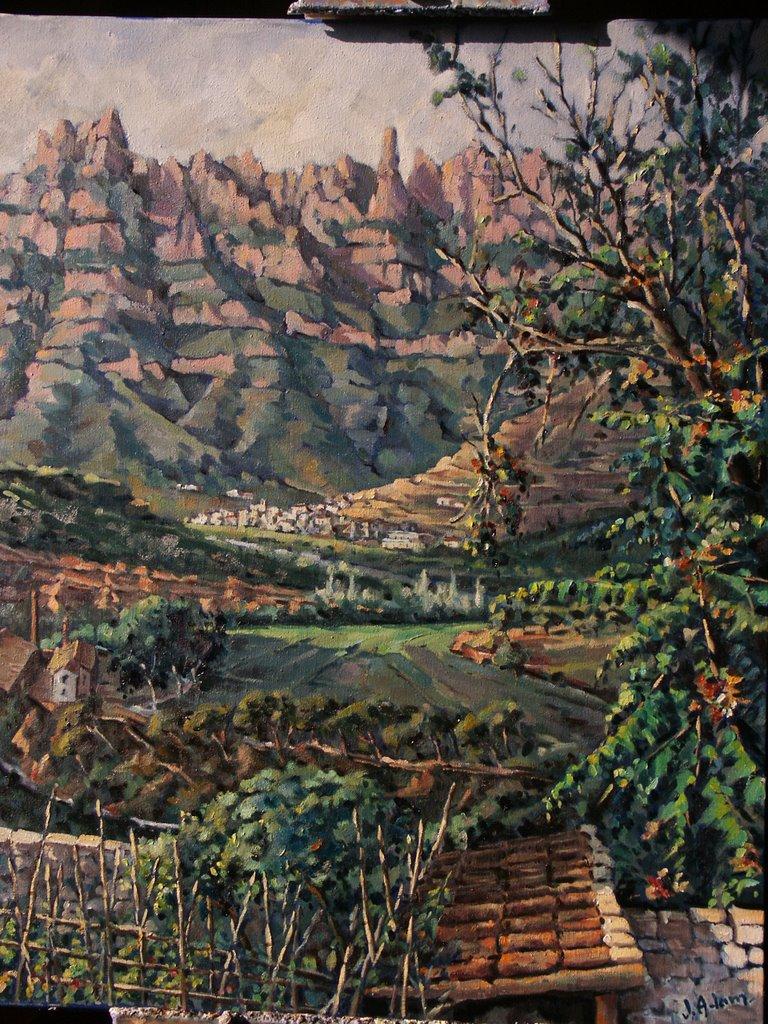 Pintures de paisatges de juliol 2006 - Pintur sant fruitos ...