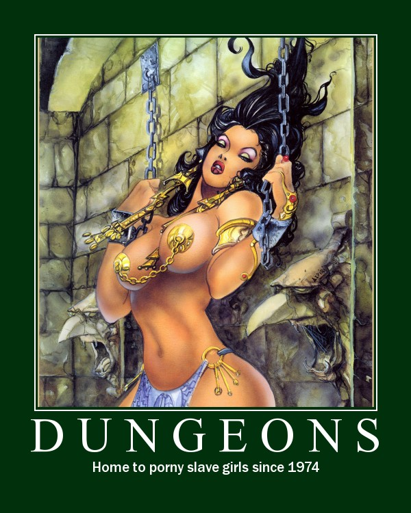 1dungeons ... make their way into a bikini bod stuffed waterpark. Like you do.