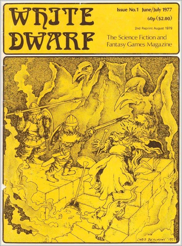 Gnome's Lair: White Dwarf issue 1