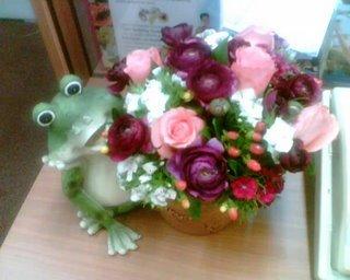 hande'nin doğumgünü kurbağası