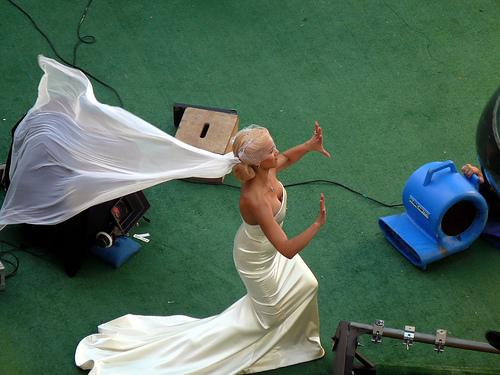 vestido de novia de los 4 fantasticos