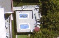 La piscine du campus de Google
