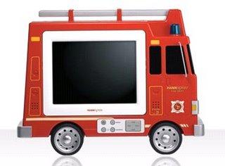 Pompier TV LCD