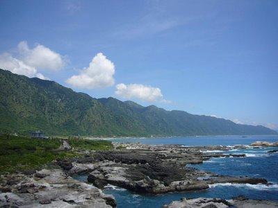 La montagne vu du Pacifique