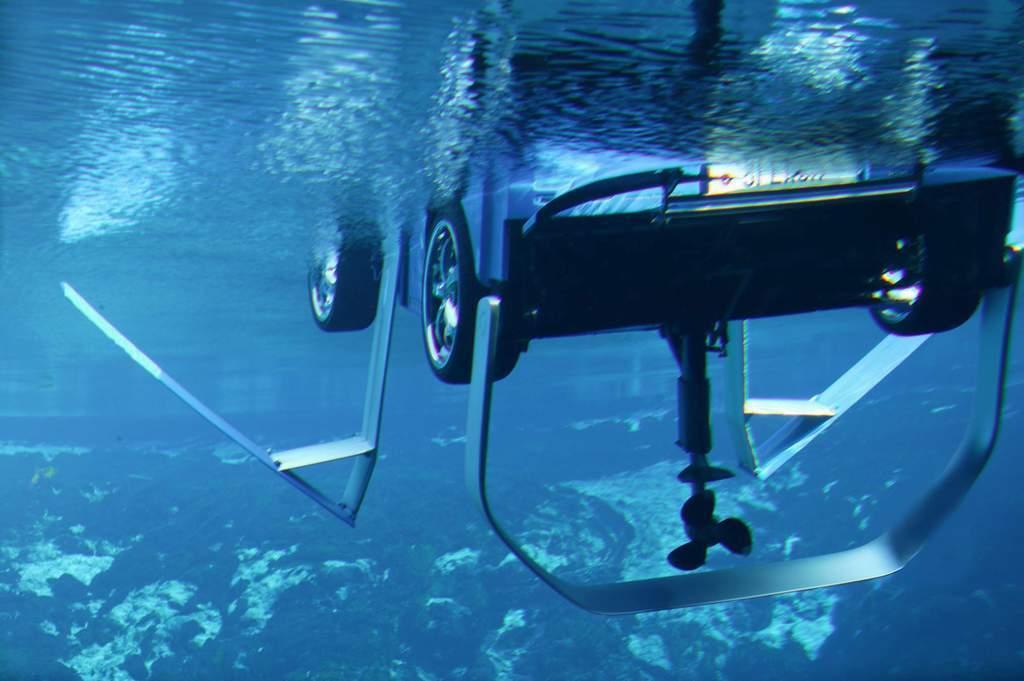 Самодельное подводное крыло