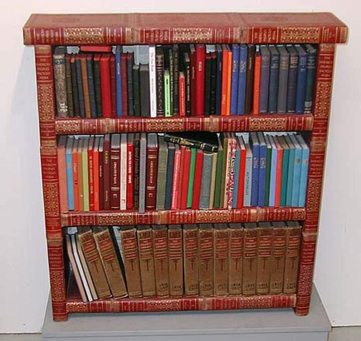 Какую мебель можно сделать из книг для дачи.