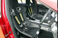 Mitsubishi Lancer Evolution X - sporty seat