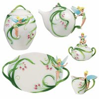 disney teaport with fairy character