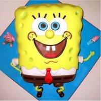 cake spongebob square pant