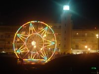wheel & lighthouse