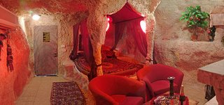 Cave House - Living room