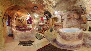 Cave House - Bedroom