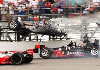 Formula F1 accident disaster