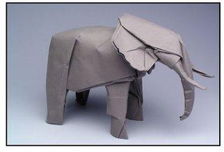 Origami - African Elephant