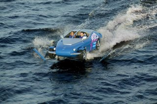 amphibious vehicle speed